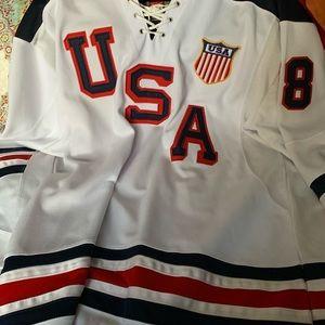 U.S.A. hockey jersey